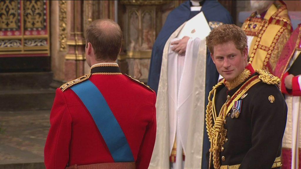 Harry herceg és Vilmos herceg 2011-ben