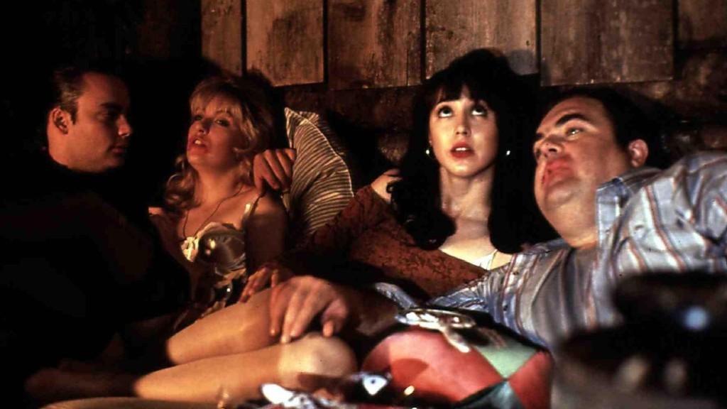 Walter Olkewicz (jobb szélen) a Twin Peaks - Tűz jöjj velem! című filmben (fotó: Profimédia)