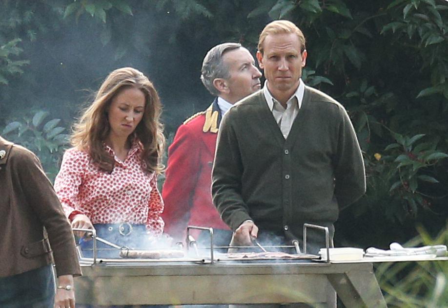 Fülöp herceg és Anna hercegnő A korona sorozatban