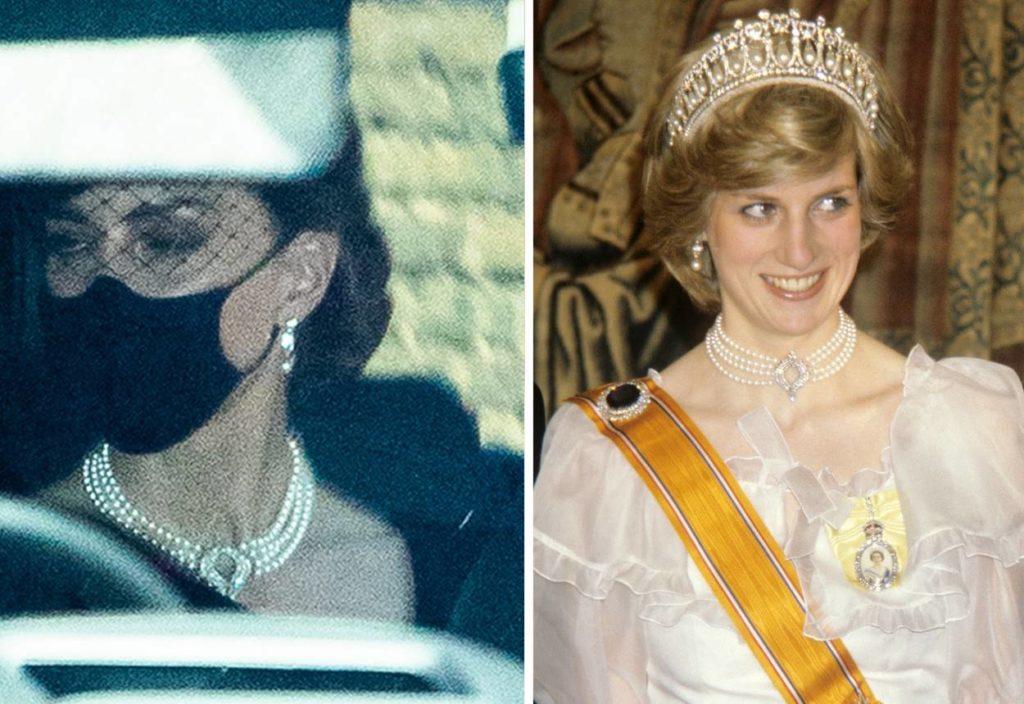 Diana és Katalin közös nyaklánc