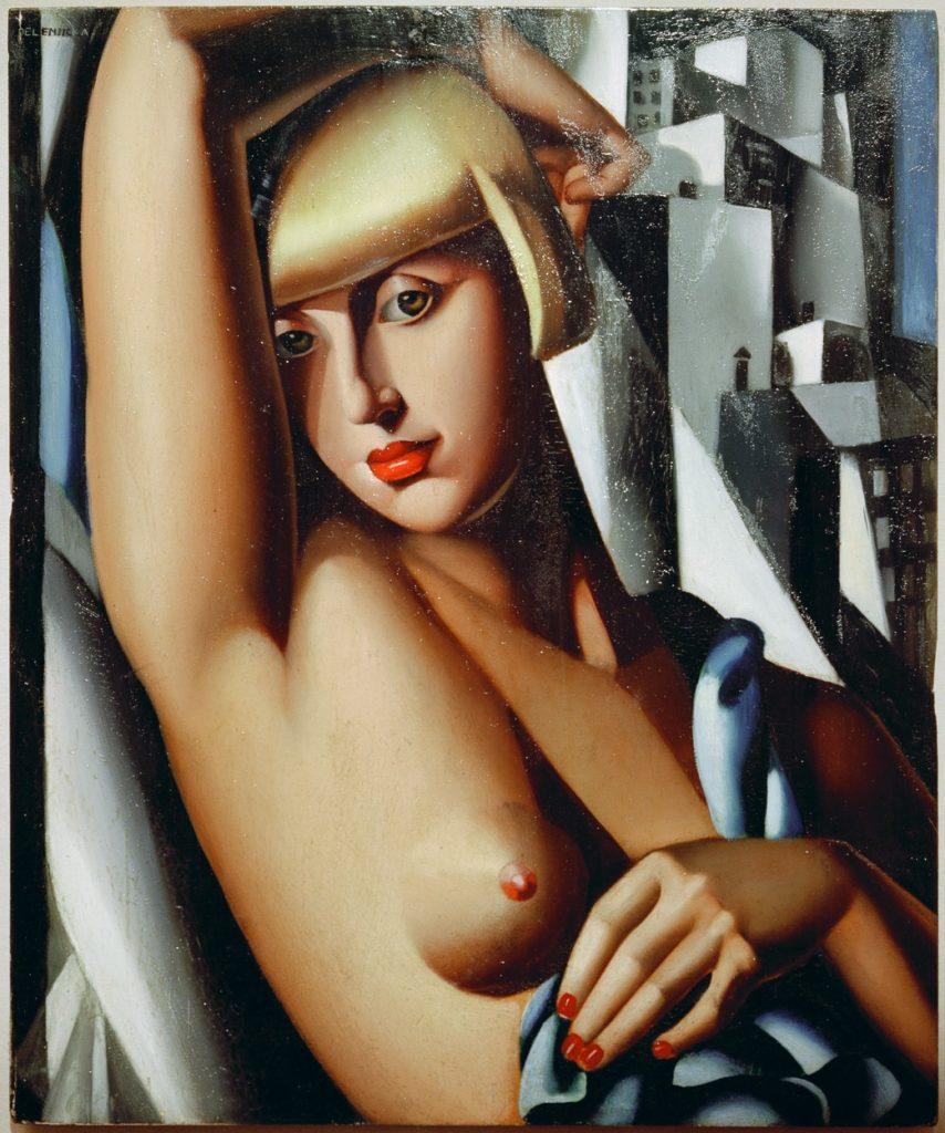 Tamara de Lempicka festménye Suzy Solidorról - 1933 (Fotó: profimedia)