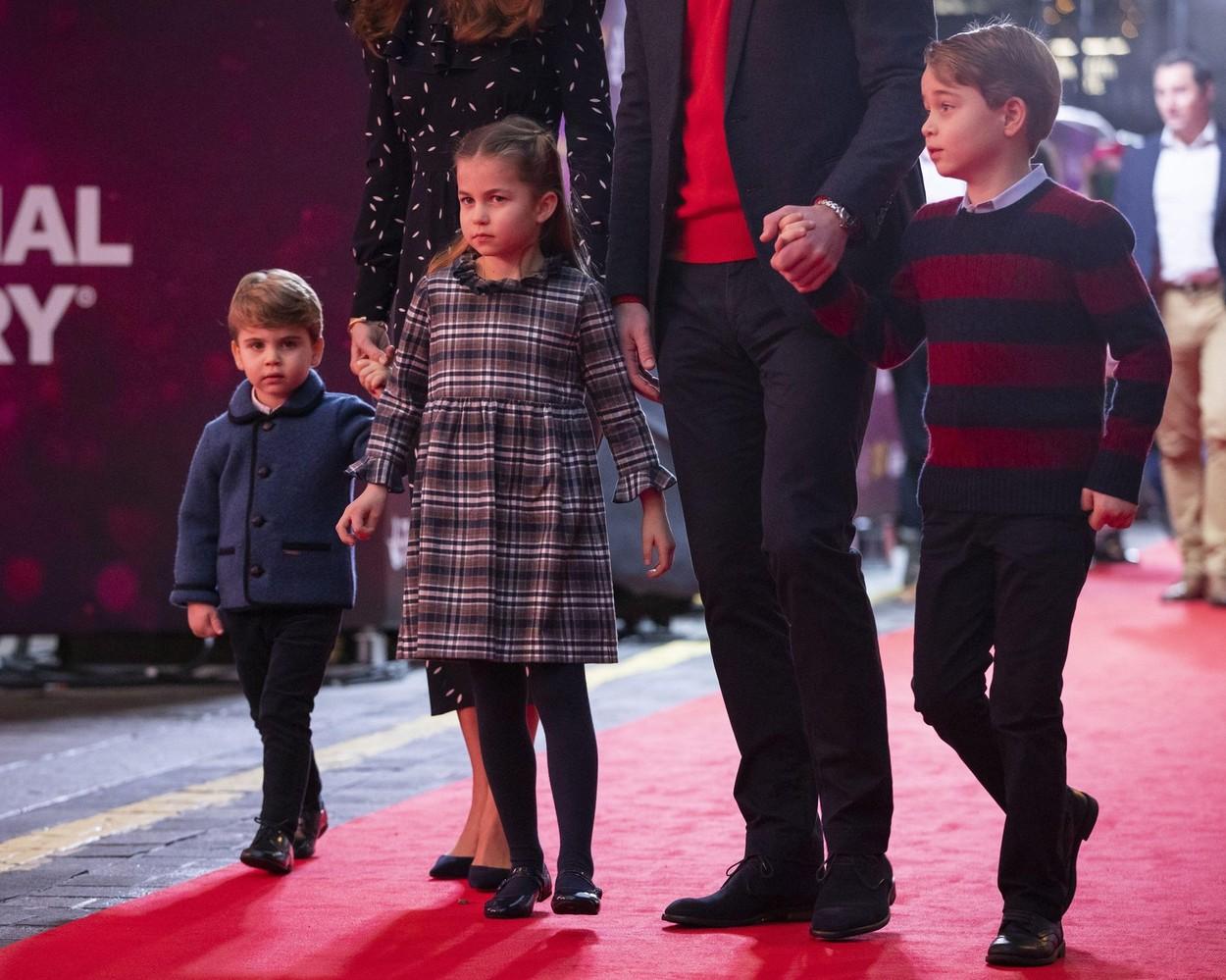 György herceg, Sarolta hercegnő, Lajos herceg
