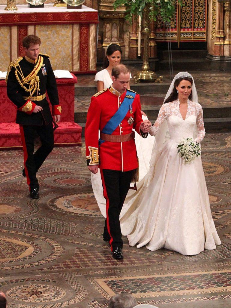 Katalin hercegné esküvői ruhája