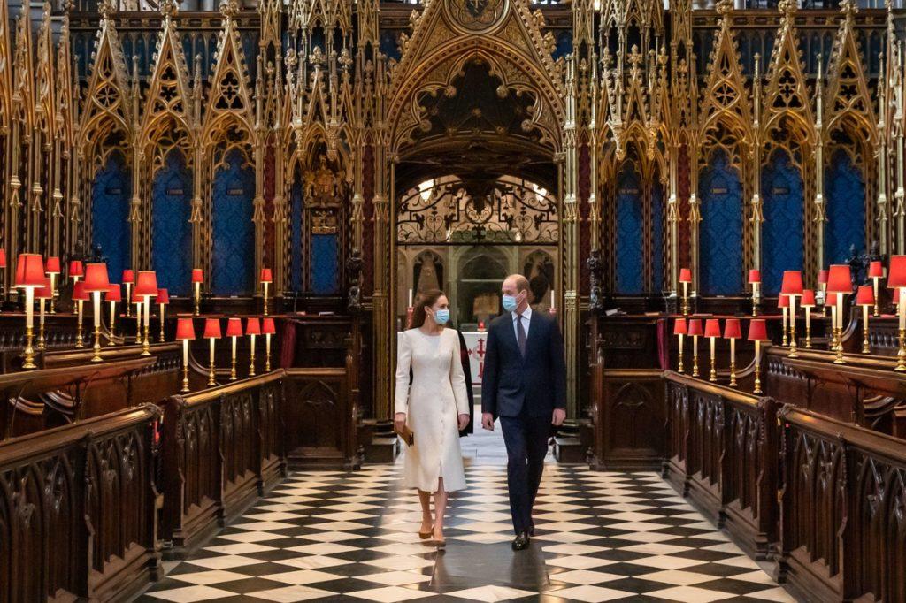 Katalin és Vilmos herceg 2021. március 24-én