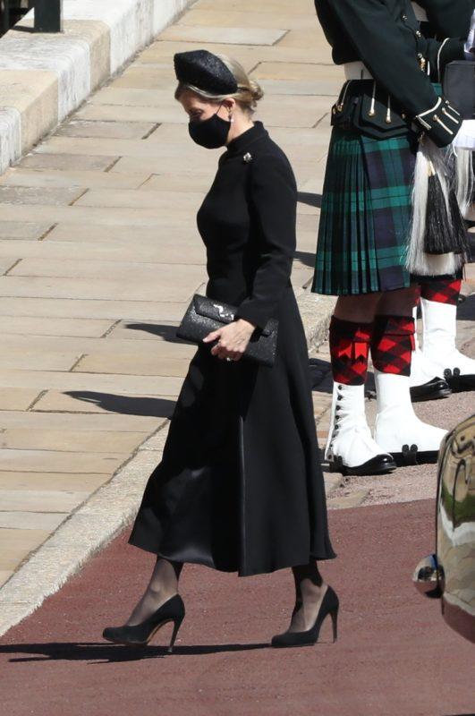 Fülöp herceg temetése Zsófia wessex-i grófné