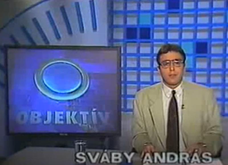 Sváby András az Objektívben 1996-ben