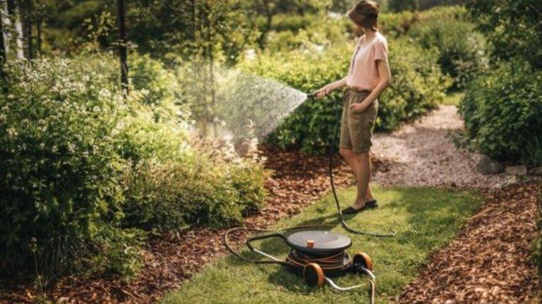 """Már nagyon szomjas volt a kert - a Fiskars segítségével alaposan """"megitattuk"""""""