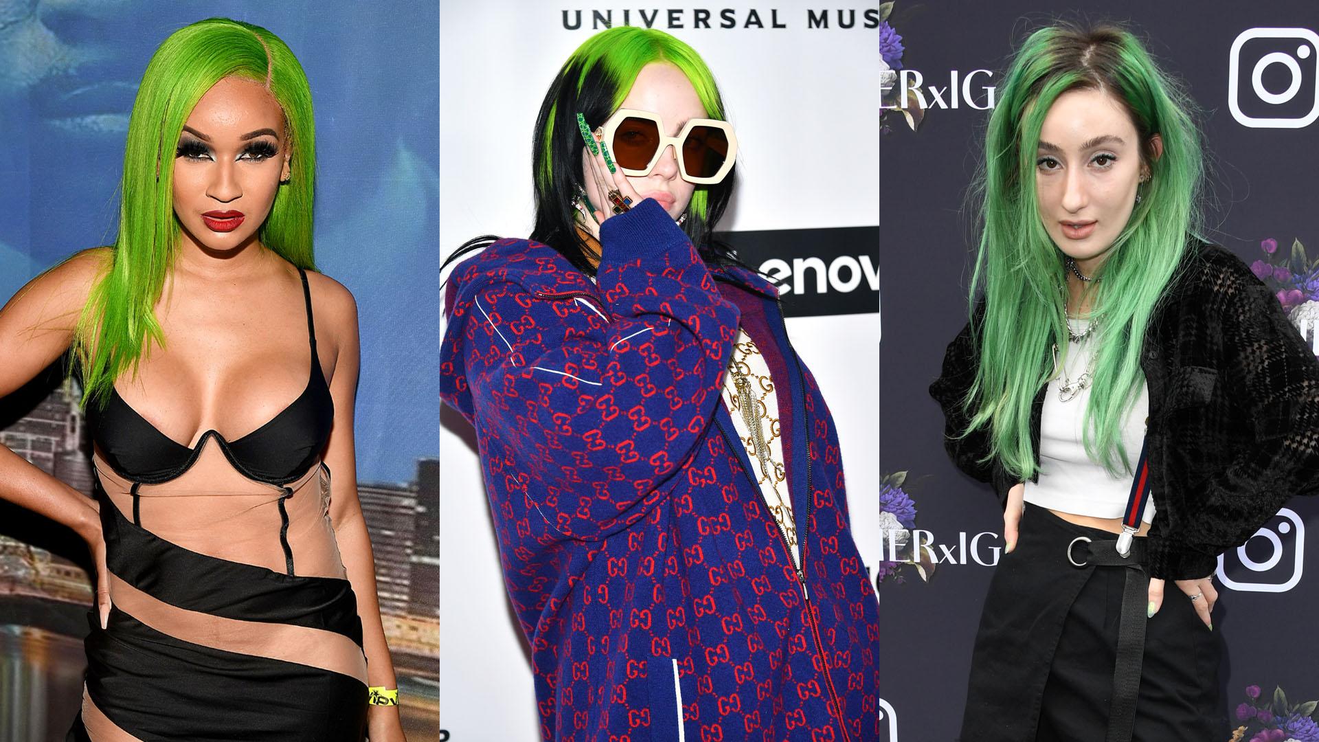 Z generáció és a zöld szín