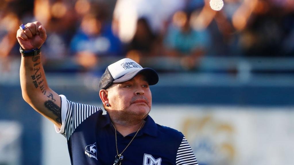 Maradona halála