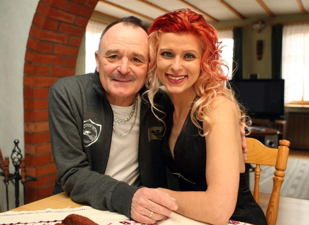 Feró és lánya Gaby 2012-ben