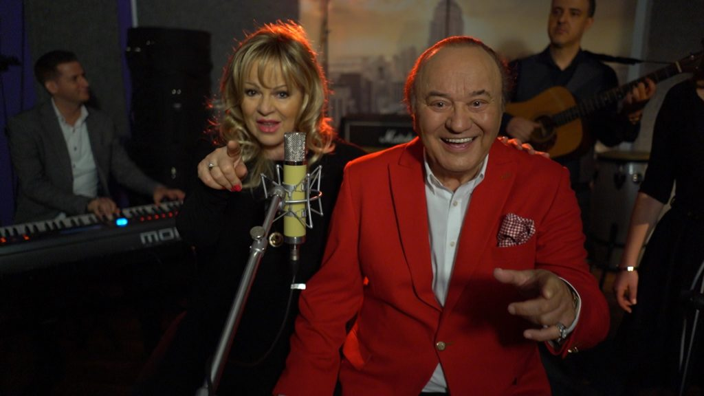 Balázs Klári és Korda György a Nagy számban (Fotó: RTL Magyarország)