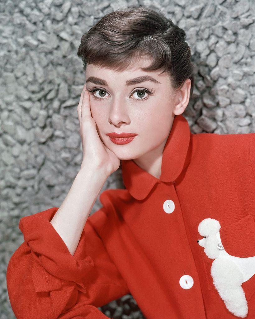 Audrey Hepburn 1957-ben (fotó: Donaldson Collection/Michael Ochs Archives/Getty Images)