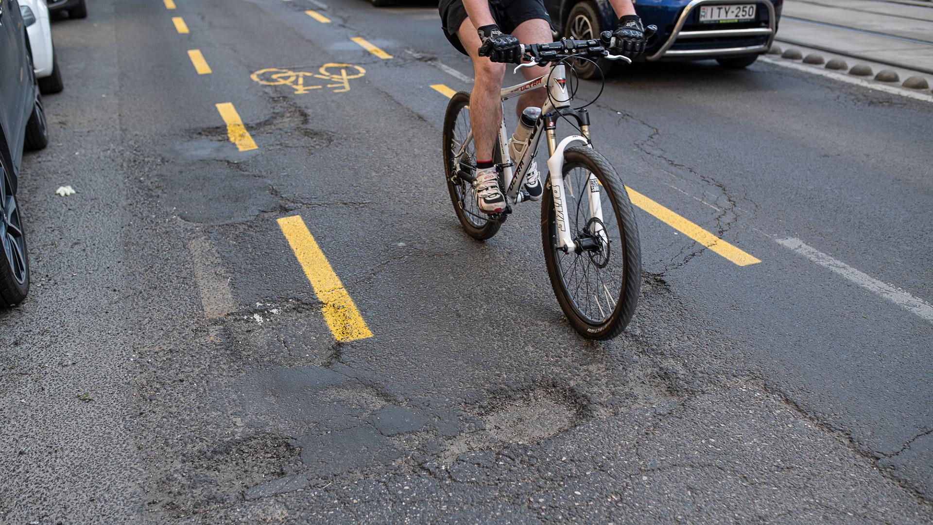 Bicikliút Budapesten