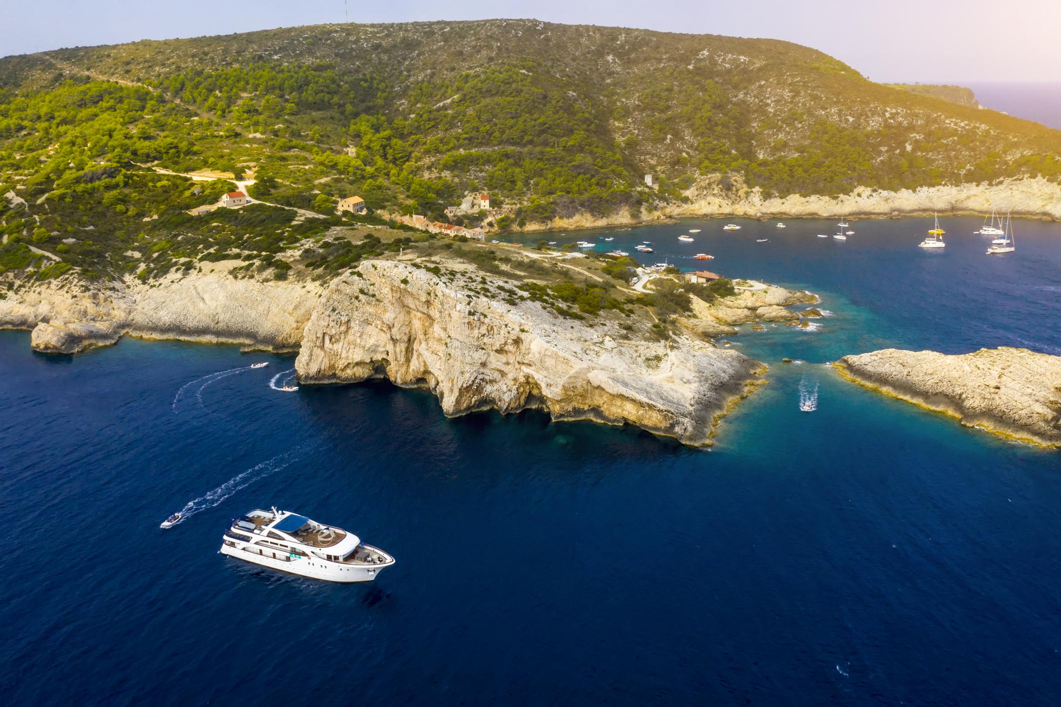 Horvátország úti célok