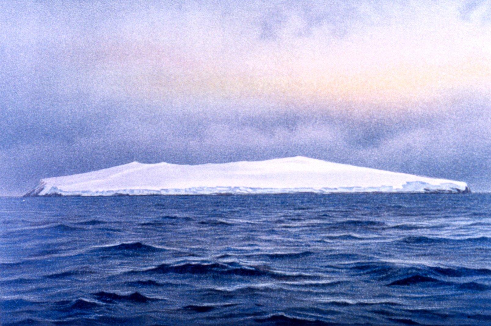 Egy kétségkívül létező, habár igen kopár sziget (fotó: Wikipedia)