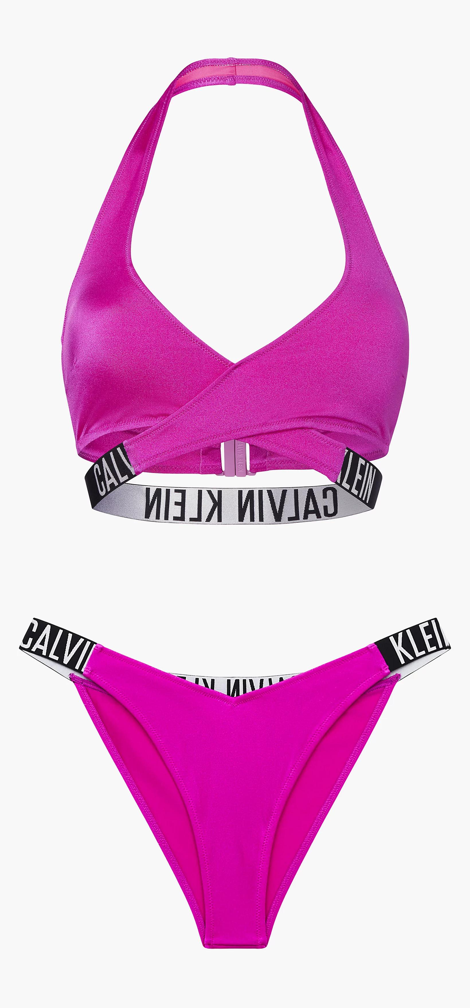 Calvin Klein magasan ívelt combkivágású bikini