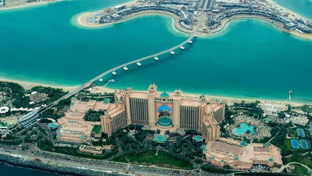 A legmagasabb épületek és éttermek Dubajban