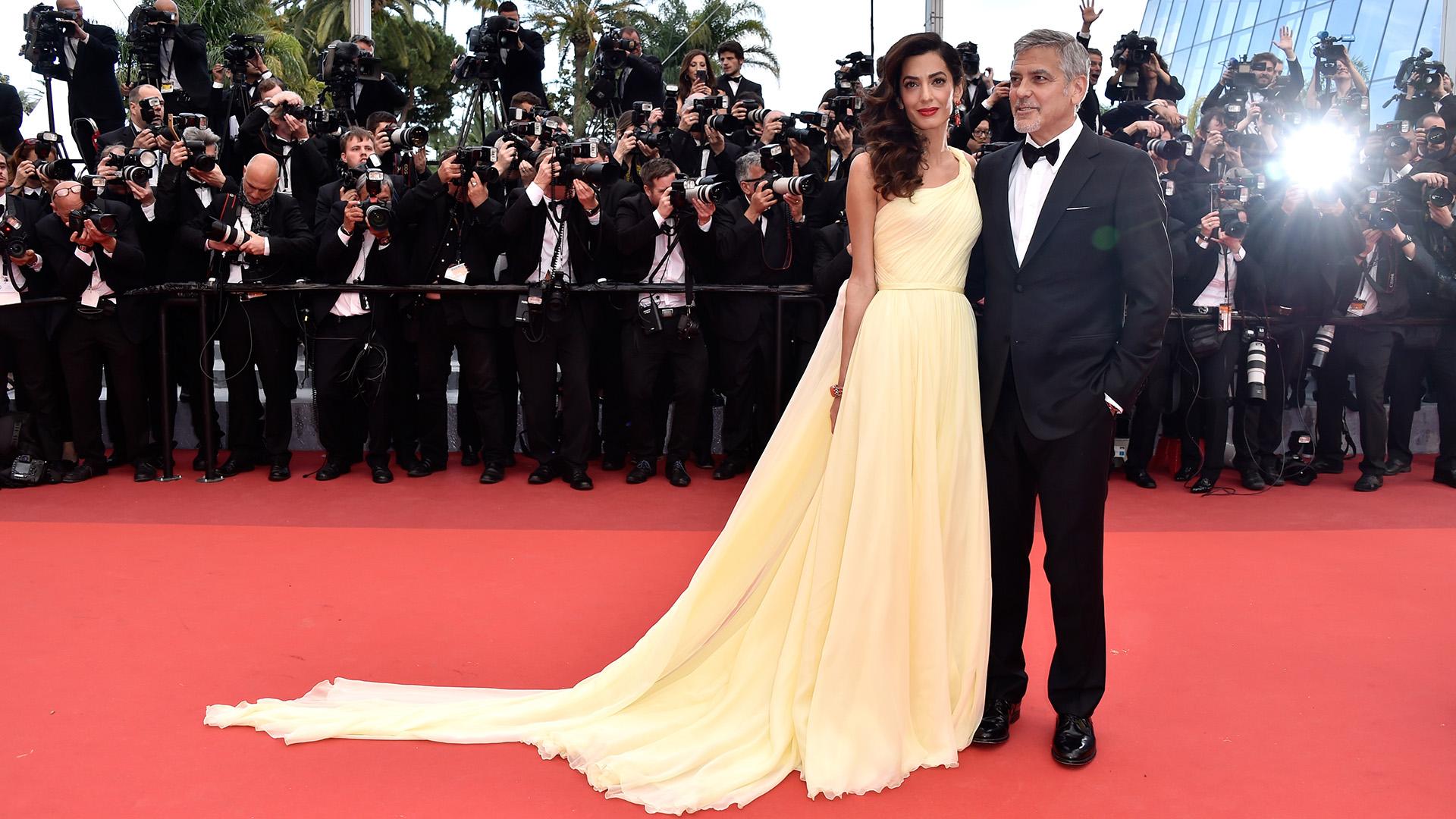 George és Amal Clooney