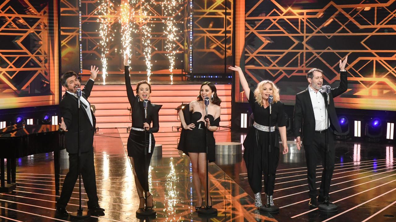 A Cotton Club Singers nagyszerű hangulatot varázsolt a színpadra