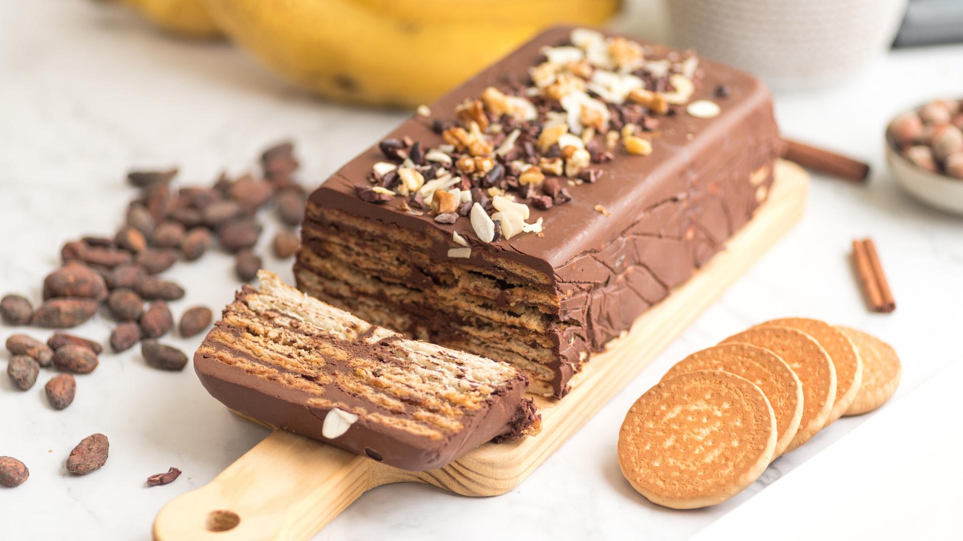 II. Erzsébet kedvence: a csokoládés keksztorta