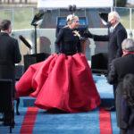 Joe Biden és Lady Gaga 2021-ben