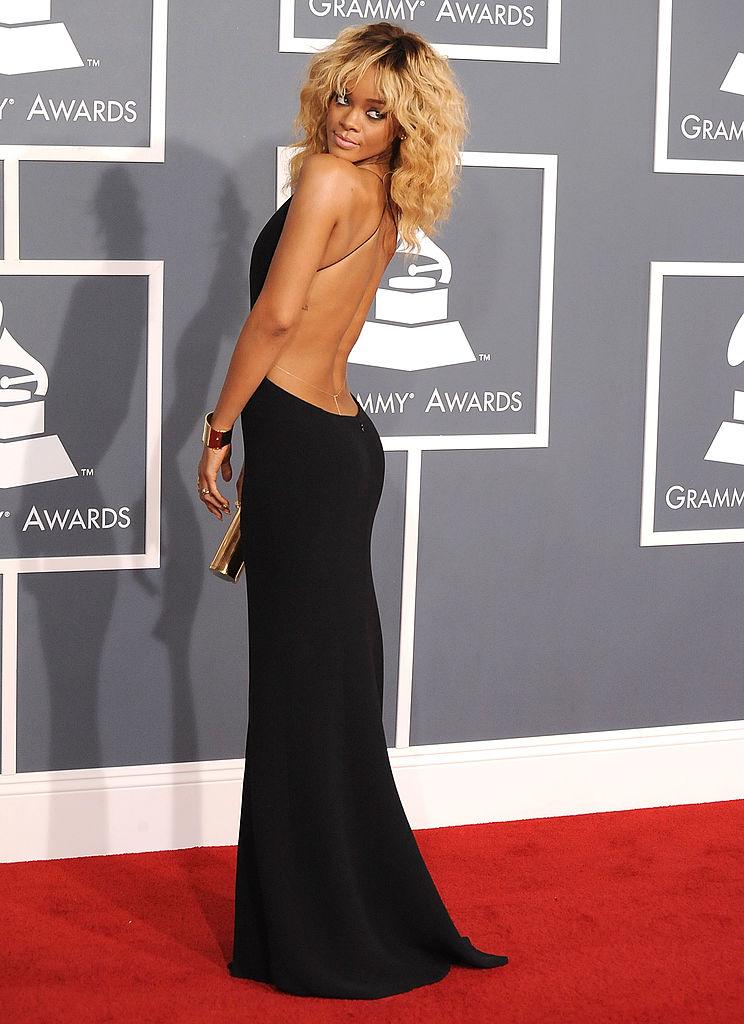 Rihanna a 2012-es Grammy-gálán