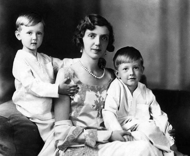 Mafalda hercegnő két fiával