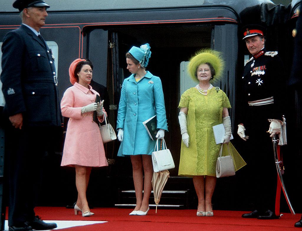 Margit hercegnő, Anna hercegnő és Erzsébet anyakirályné