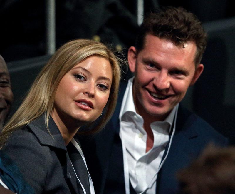 Holly Valance és férje, Nick Candy