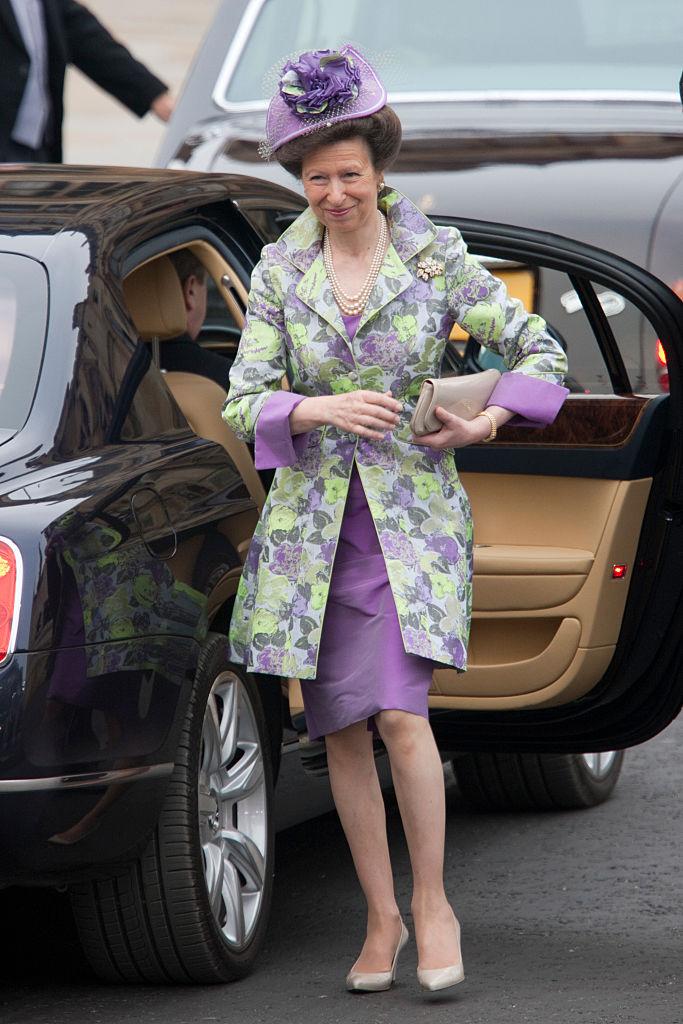 Anna hercegnő Vilmos herceg és Katalin hercegné esküvőjén
