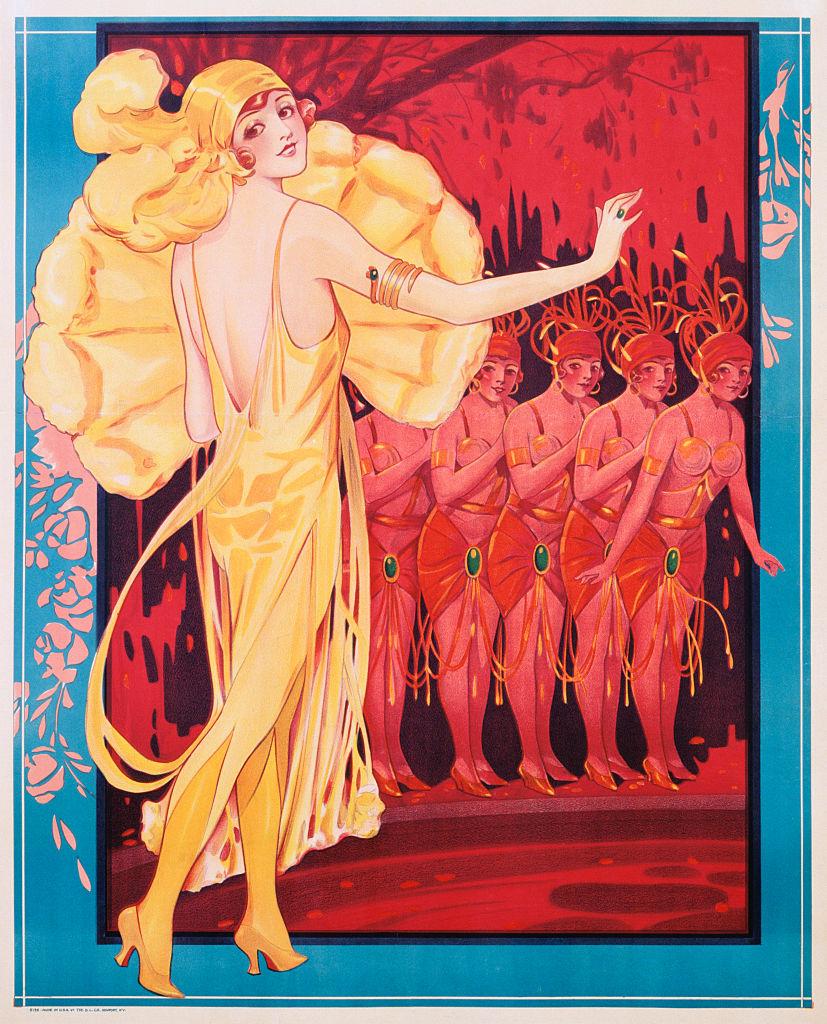 Plakát az 1930-as évekből