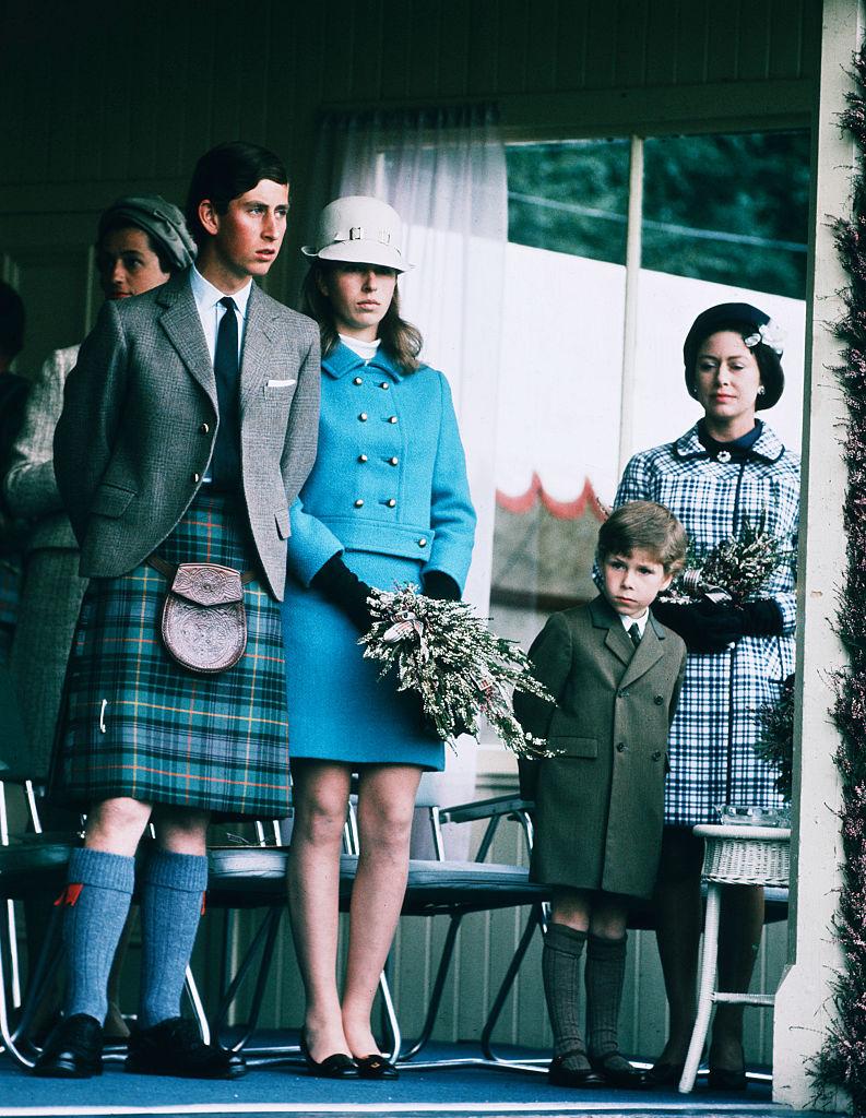Károly herceg, Anna hercegnő és Margit hercegnő