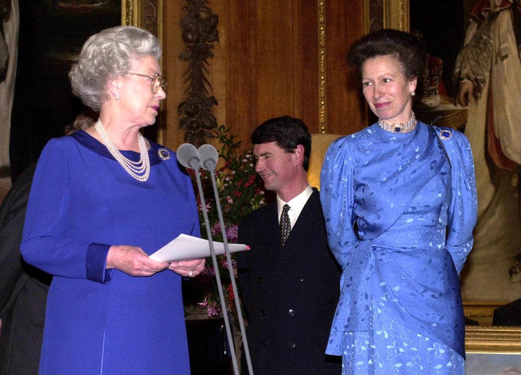 Anna hercegnő és II. Erzsébet