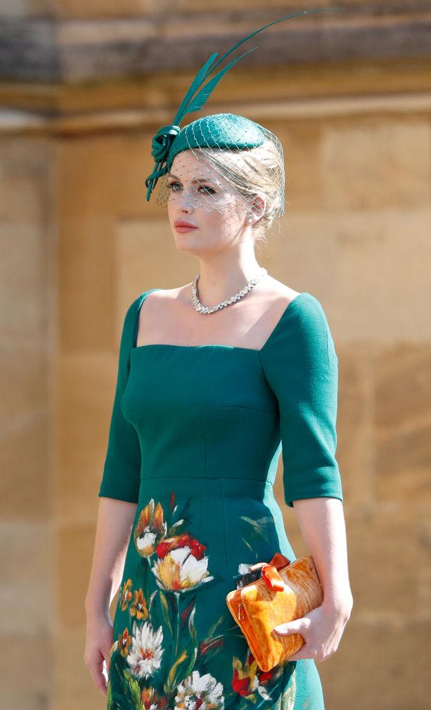Lady Kitty Spencer Harry herceg és Meghan Markle esküvőjén