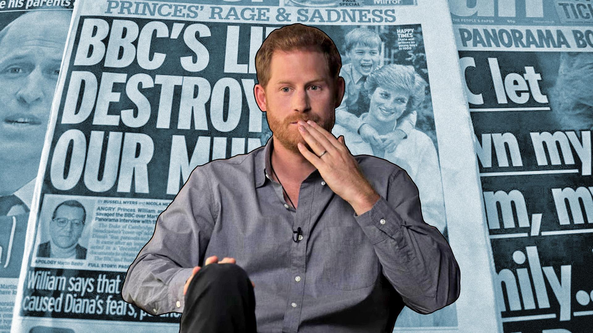 Mind Vilmos, mind pedig Harry egyetért abban, hogy Diana halálában közrejátszott a mértéket nem ismerő média