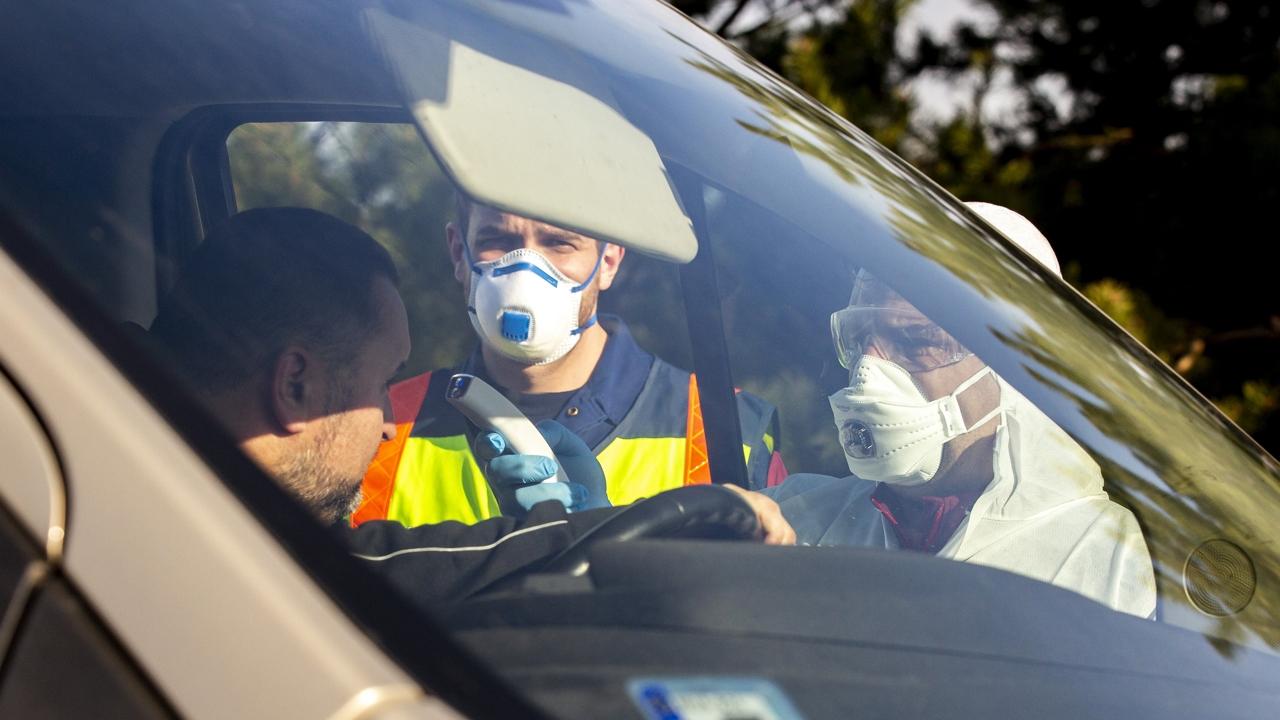 Határellenőrzés a járvány miatt