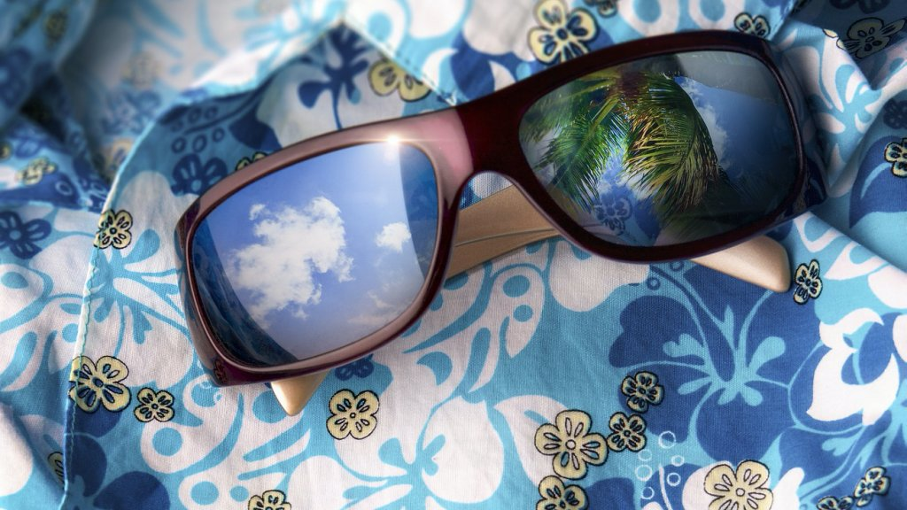 Hawaii-mintás ing