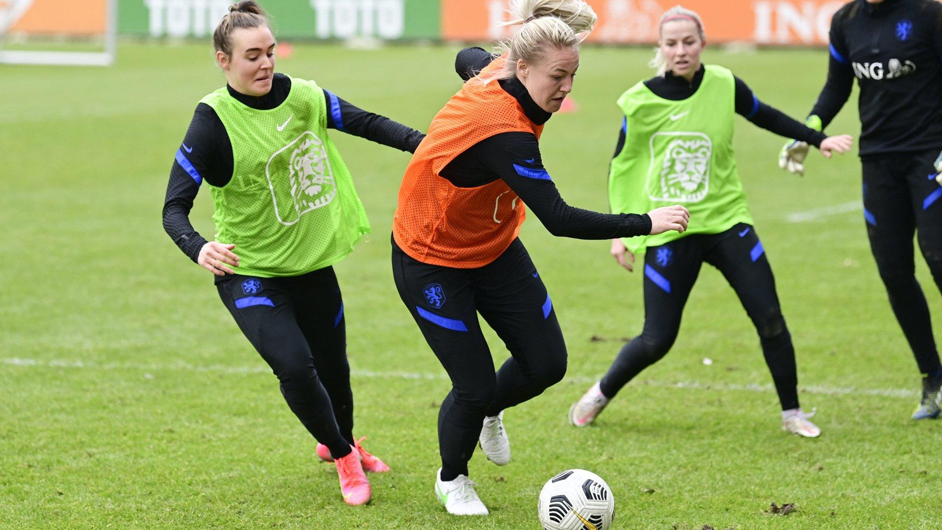 Holland női focisták