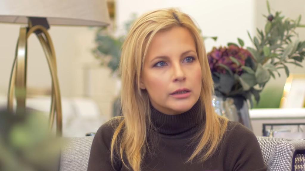 Várkonyi Andrea még Tatár Csilla műsorának vendégeként (forrás: YouTube)