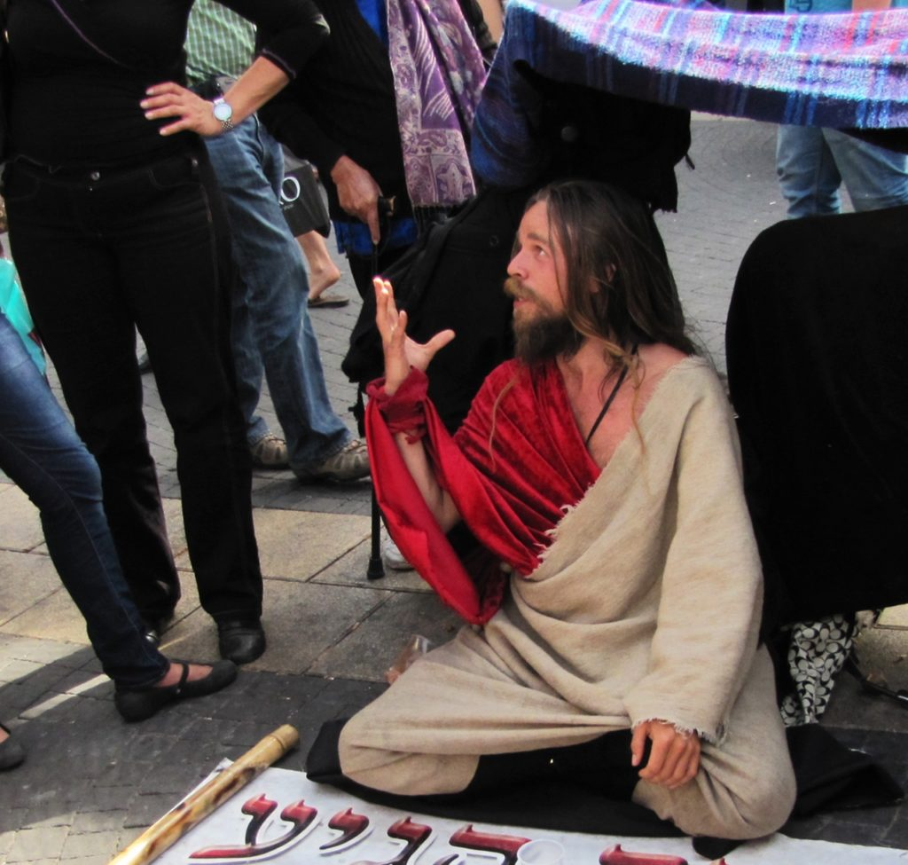 A Messiás Jeruzsálemben (fotó: Wikipedia)