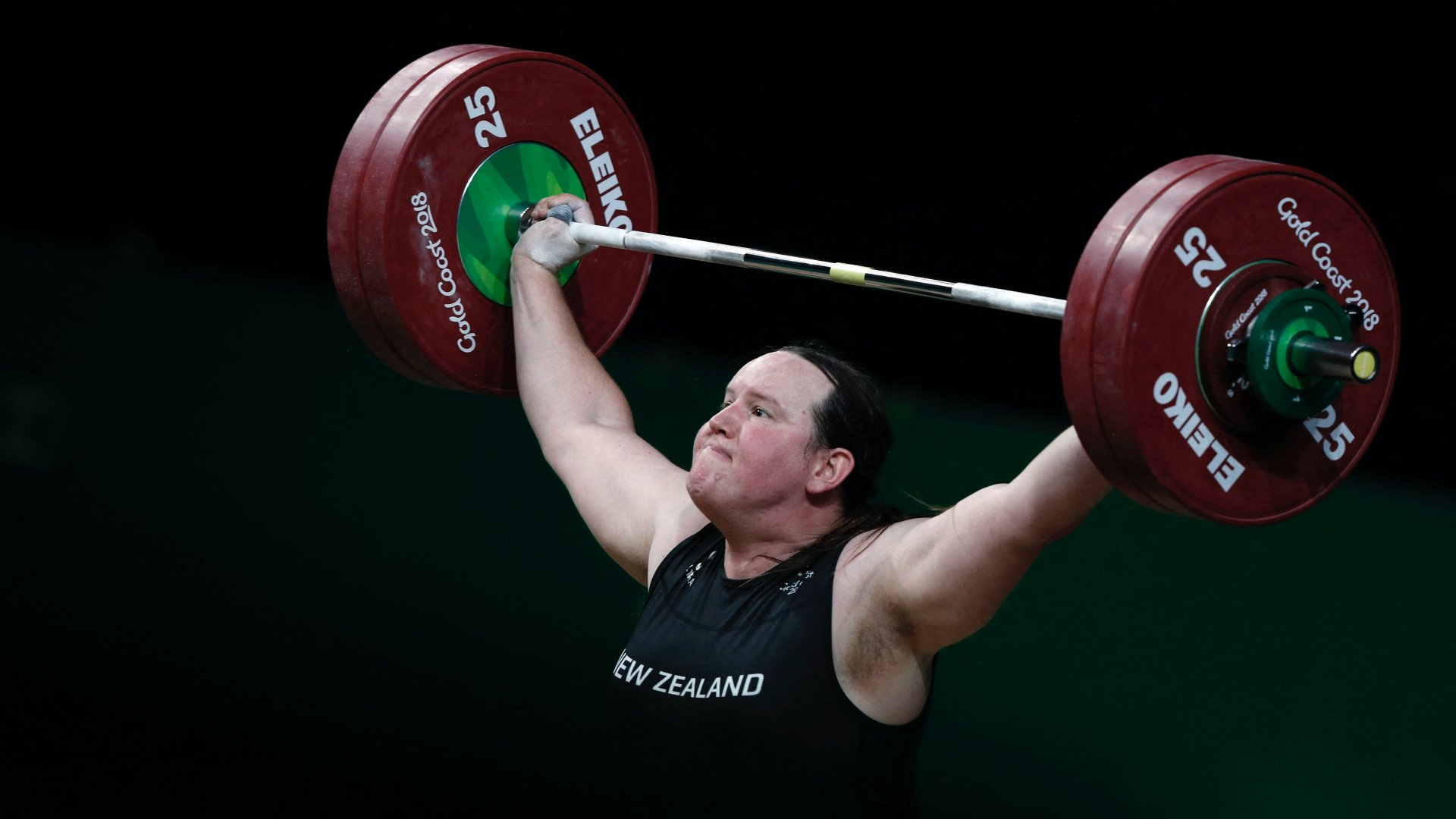 Laurel Hubbard transznemű súlyemelő