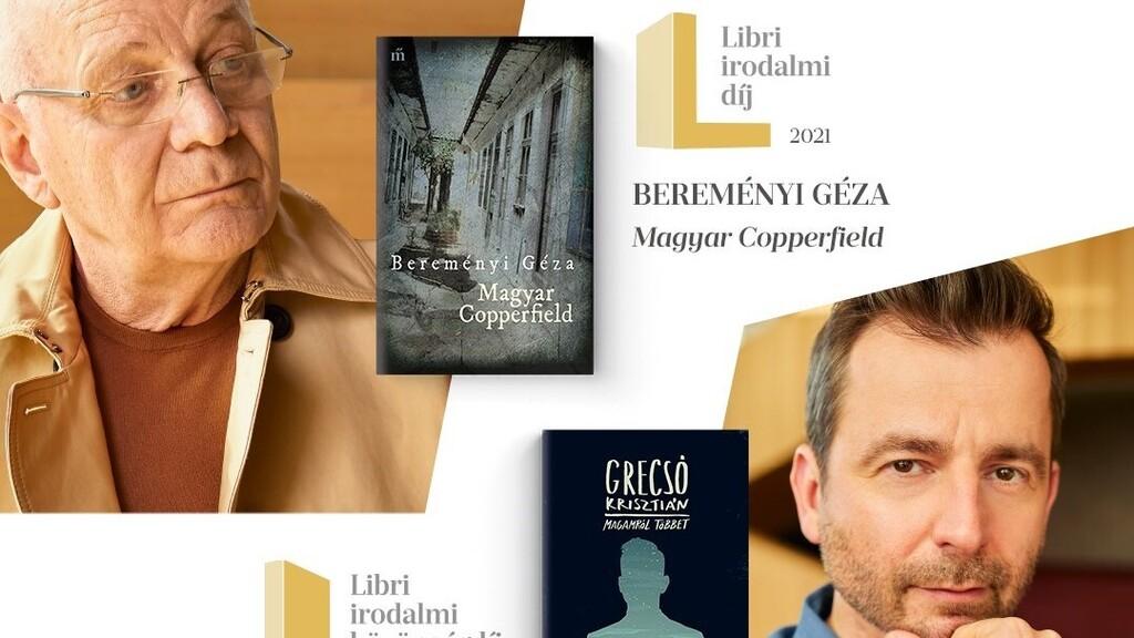 Bereményi Géza és Grecsó Krisztián kapták a Libri irodalmi díjakat