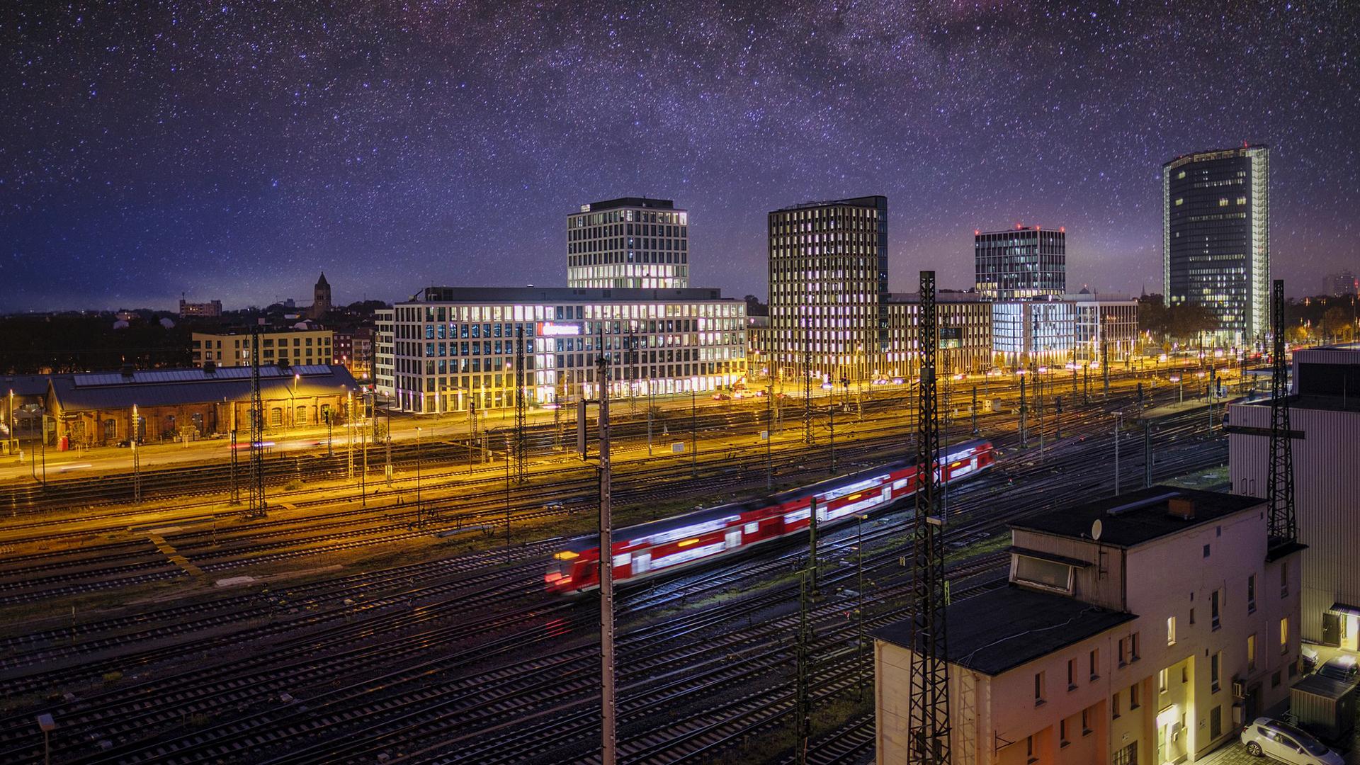 Mannheim a térség gazdasági és kulturális központja, több mint 300 ezer ember lakja / Fotó: Pixabay