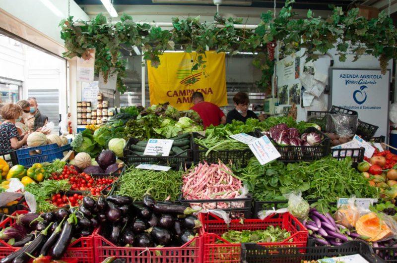 A Testaccio piac Rómában