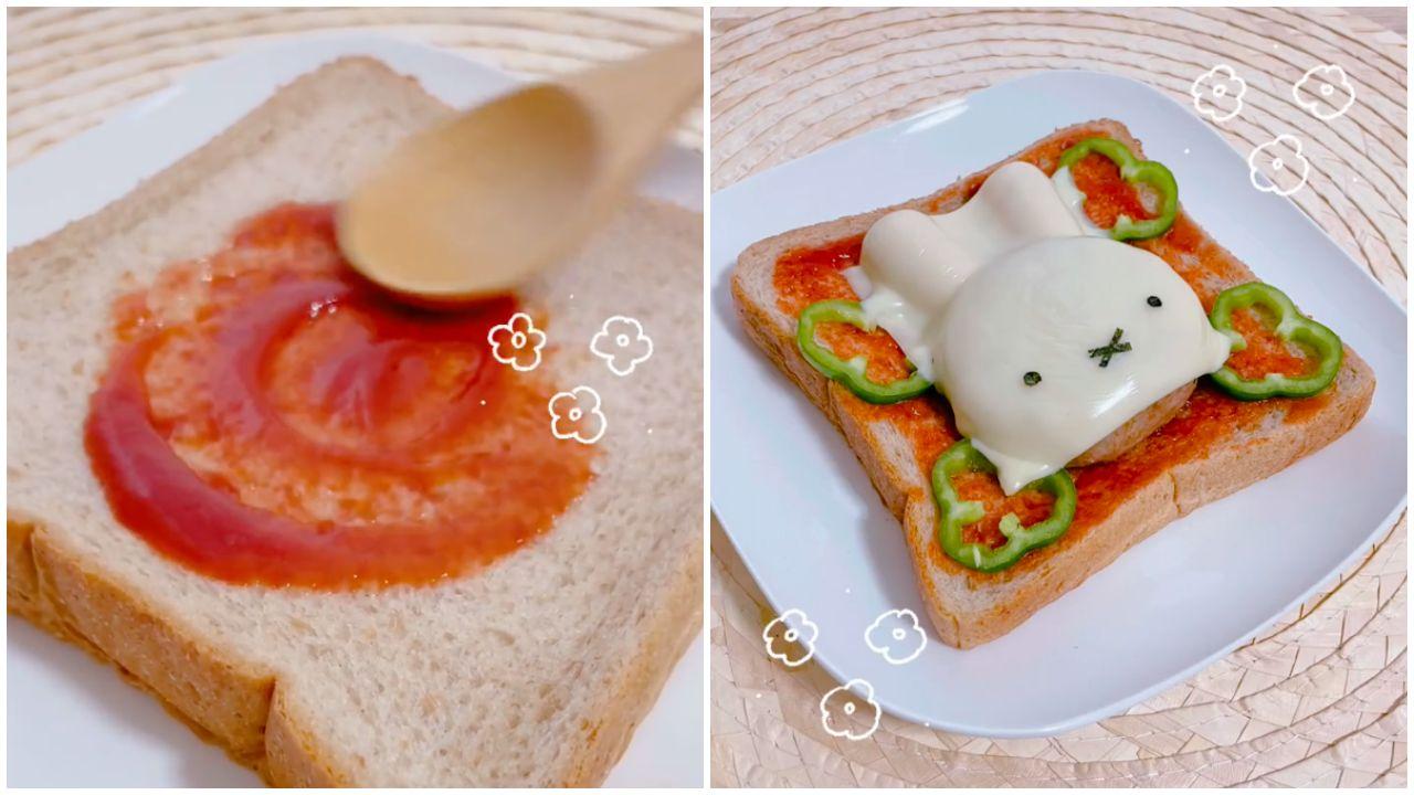 Miffy-szendvics