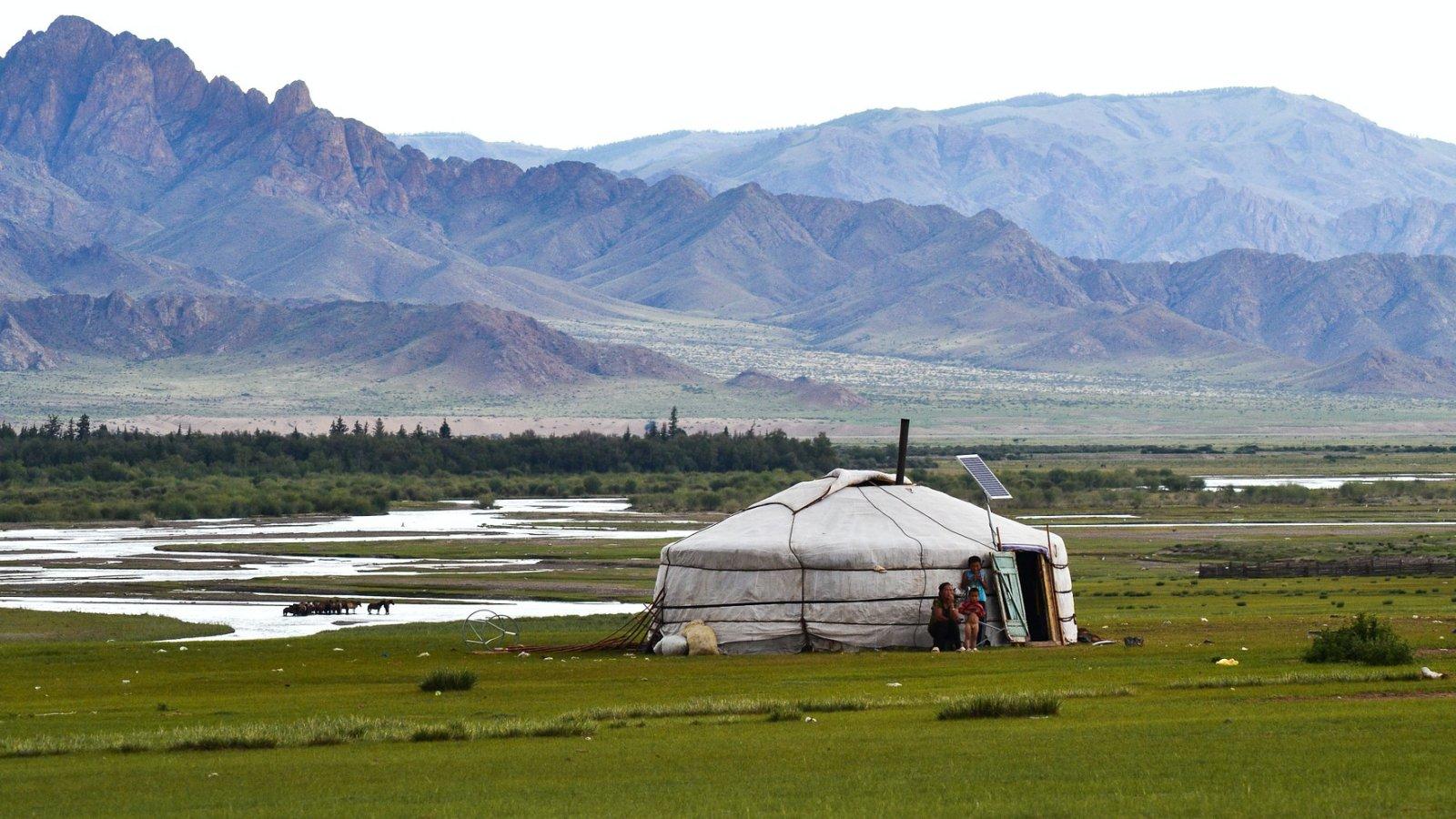 Jurta Mongóliában