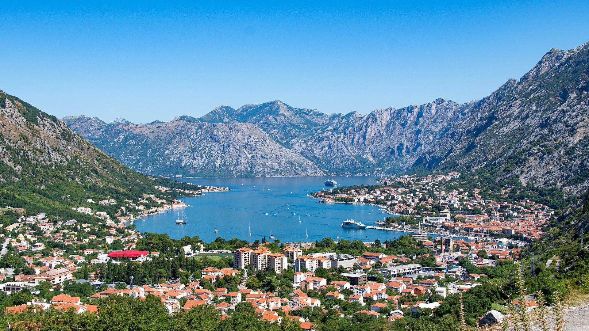 A Kotori-öböl Montenegróban