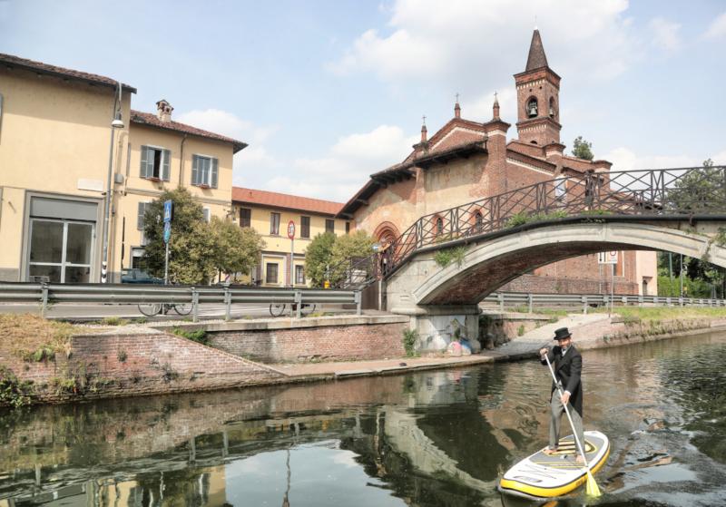 Milánó - Naviglio Grande