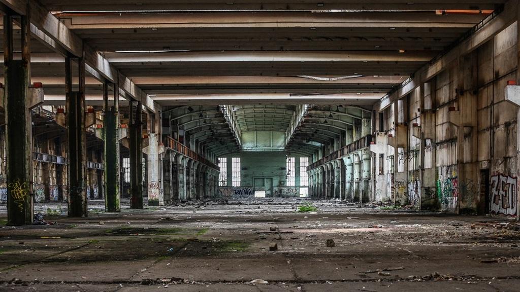 Elhagyatott magyar gyárak
