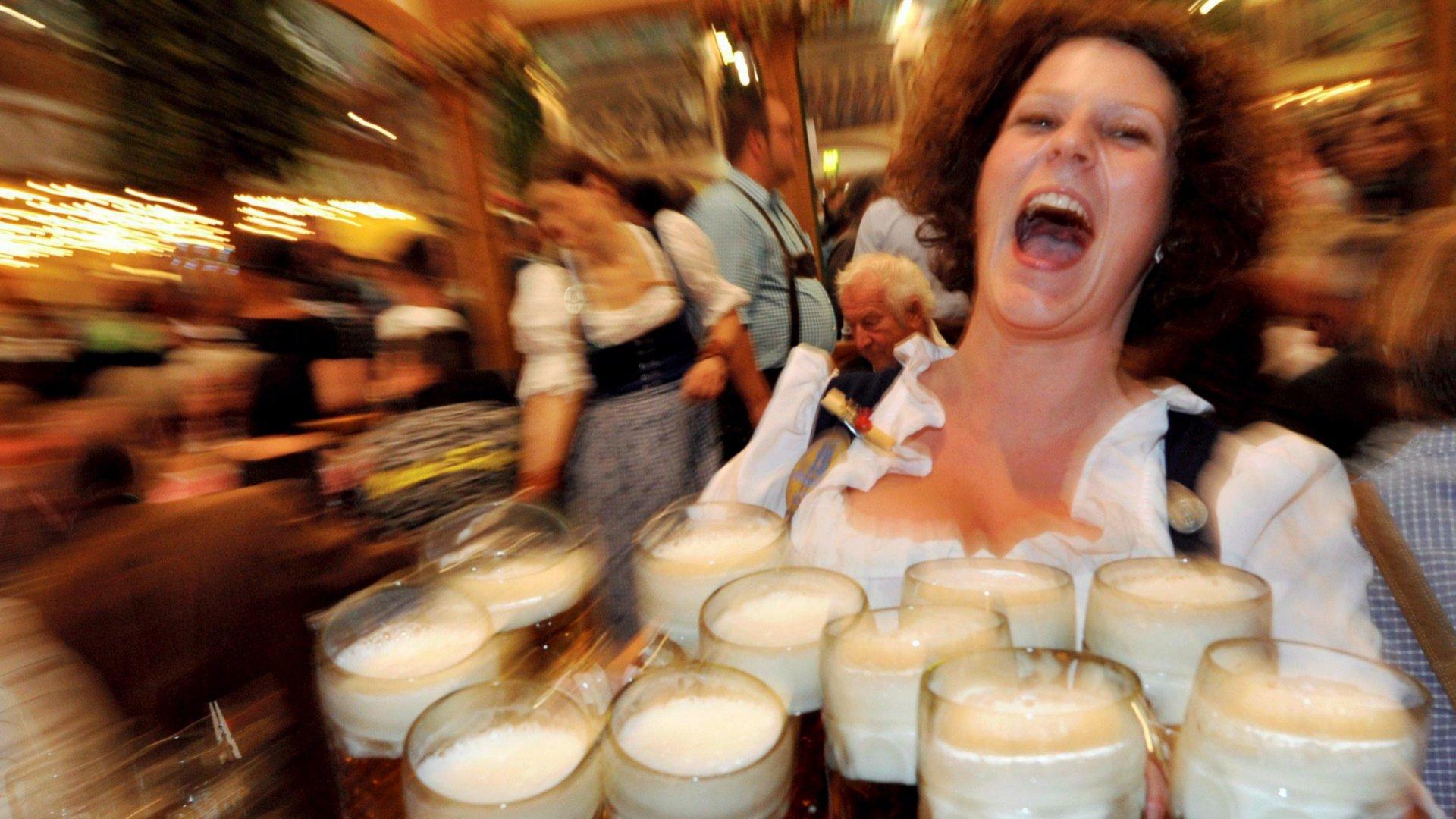 A müncheni Oktoberfest